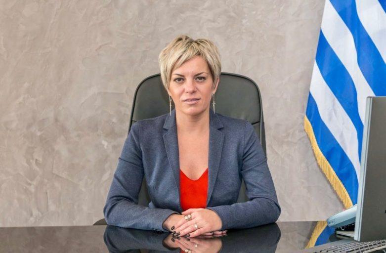 Η Γενική Γραμματέας Αντεγκληματικής Πολιτικής, Σοφία Νικολάου συναντήθηκε σήμεραμε τον Δήμαρχο Ασπροπύργου, Νικόλαο Μελετίου