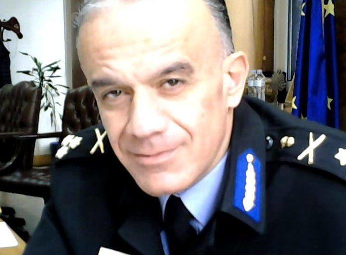 Στέφανος Κολοκούρης  στην Ηγεσία του Πυροσβεστικού Σώματος